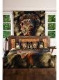 home-bath Çift Kişilik Nevresim Ve Duvar Örtüsü Seti-Ancient Hippie Renkli
